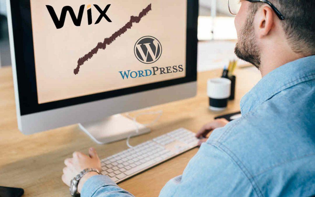 Wix o WordPress Cual elegir en 2020